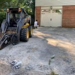 removal of sidewalk and driveway