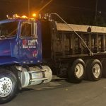 truck services large dump truck and equipment